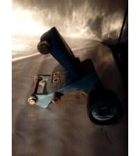 Suporte Do Compressor + Polia Mwm X12 6cc