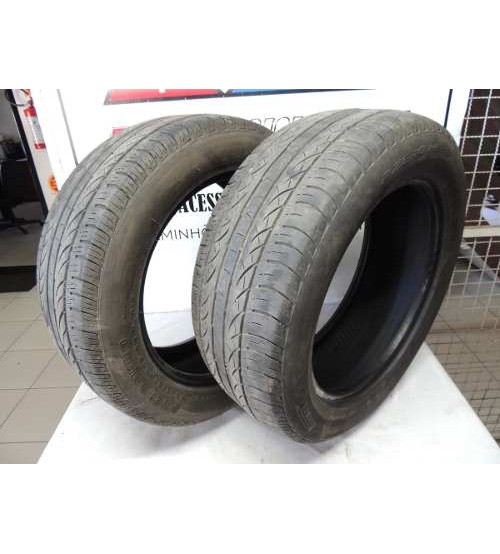 02 Pneus Pirelli Pzero 235/55 R17 - Meia Vida