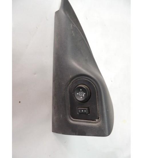 Acabamento Com Botão Espelho Elétrico Gm S10 Lt 2013 2 Porta