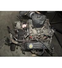 Motor Parcial Dodge Dakota 3.9 V6 Gasolina Na Base De Troca