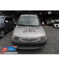 Sucata Citroen Berlingo 2002/2002 Para Venda De Peças!