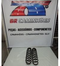 Par Molas Traseiras Originais Ford Ecosport 2012