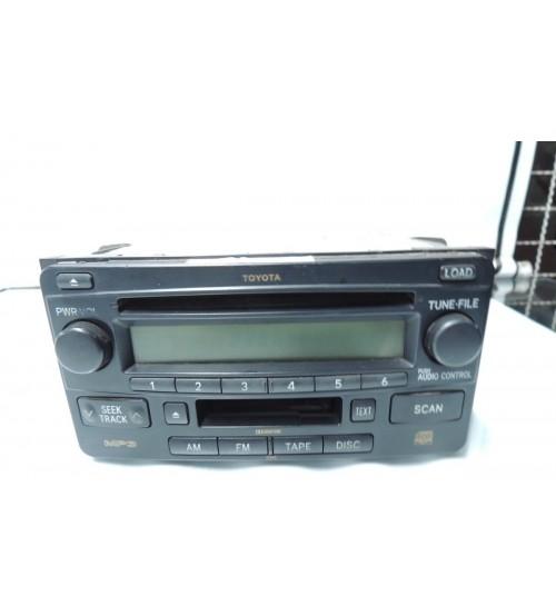 Aparelho De Som / Rádio Original Toyota Hilux 2006