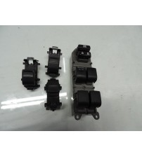 Conjunto De Botões Do Vidro Elétrico Toyota Rav4 2014